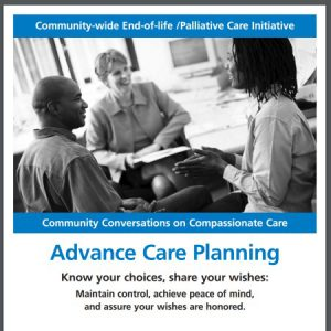 Advance Care Planning – for all adults